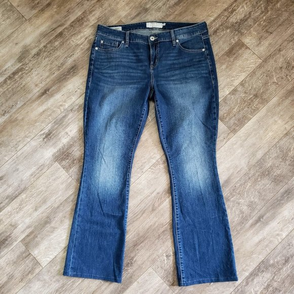 Torrid Slim Boot Faded Front Jeans 14T